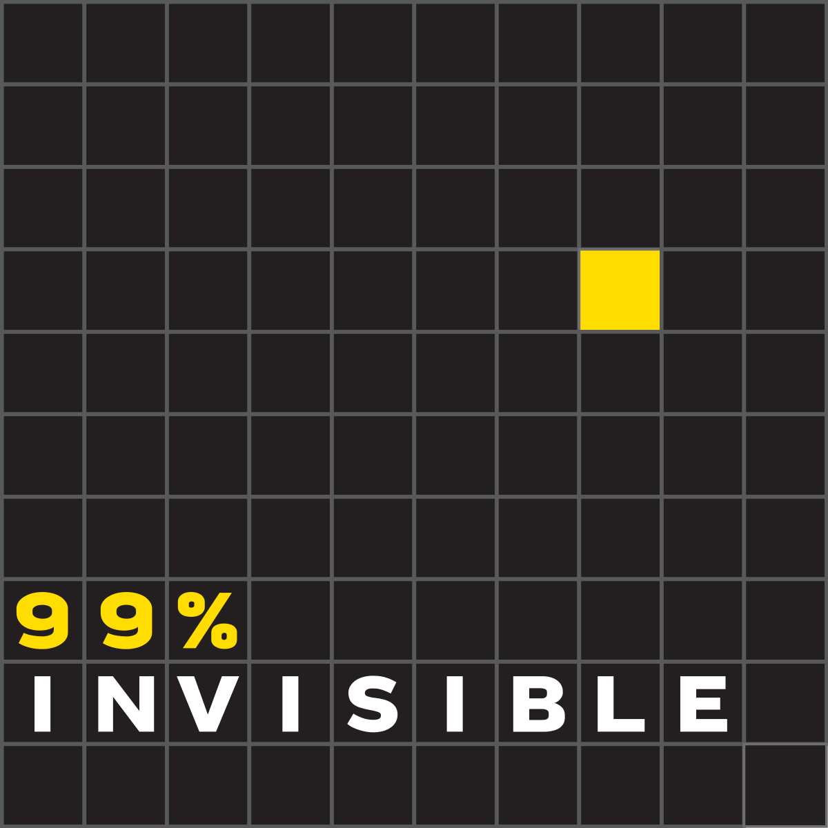 99% Invisible: a top design podcast by Roman Mars